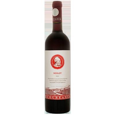 Red wine Merlot Budureasca