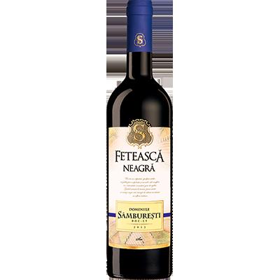 Red wine Black+Feteasca+Domeniile+Samburesti