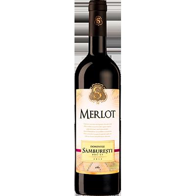 Red wine Merlot Domeniile Samburesti